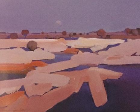Michael White, Waning Moon After Rain