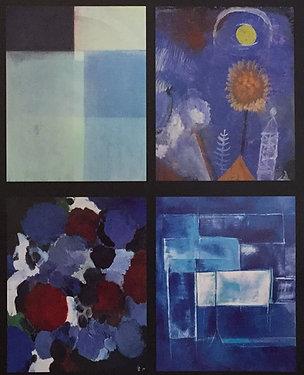 Blue Art Calendar, Cover