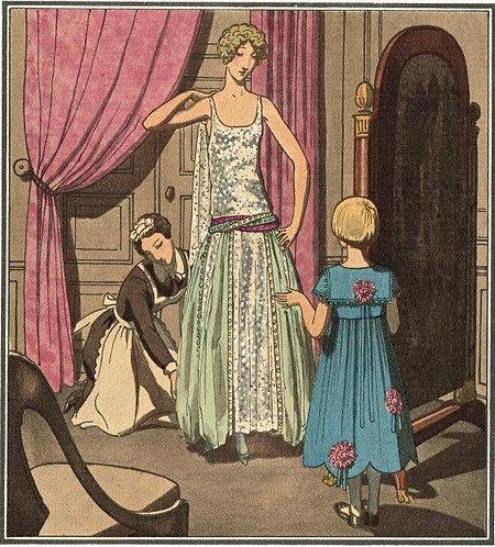 Gazette Du Bon Ton 1922 No 3 Pochoir