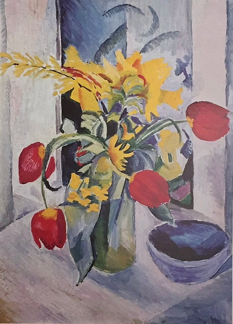 August Macke, Still Life with Tulips