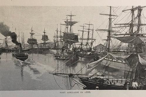 Port Adelaide in 1888