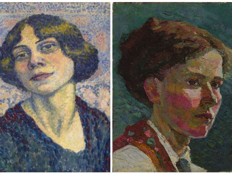 Grace Cossington Smith and Lucie Cousturier - Post Impressionist bonds.
