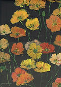 Dawn Wilson, Spring Poppies, 320 x 420mm