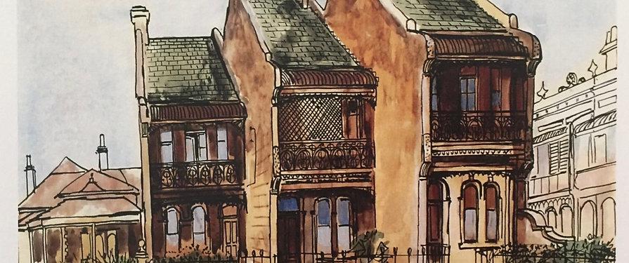 Margaret Olley, Terrace Houses
