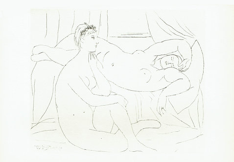Pablo Picasso, Two Nudes Resting
