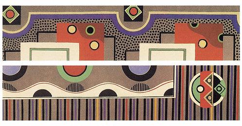 Georges Valmier, Collection Decors et Couleurs, Plate V1