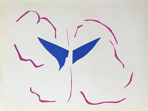 Matisse -  Lithograph - Bateau