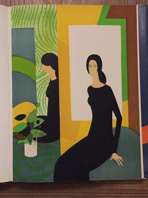 Andre Minaux, Jeux de Miroir, Original Lithograph