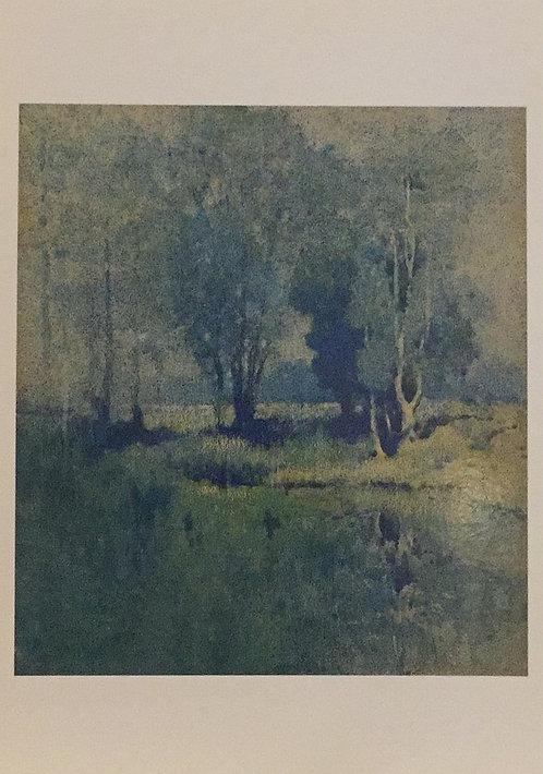 J.J. Hilder, Moon in the Swamp