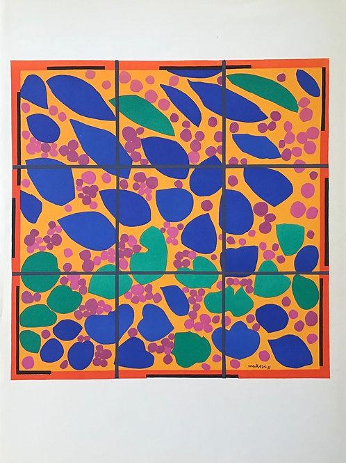 Matisse -  Lithograph - Lierre en Fleur