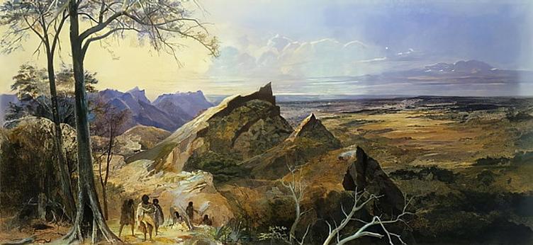 George Rowe, Aborigines in an Australian