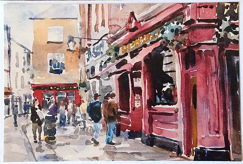 Ray Barnett, Temple Bar, Dublin