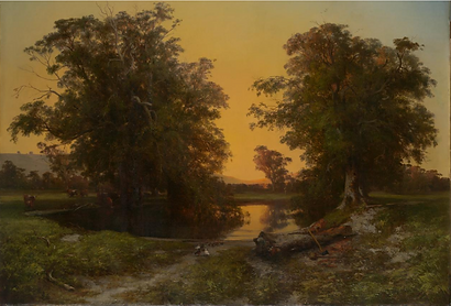 Louis Buvelot, Waterpool near Coleraine