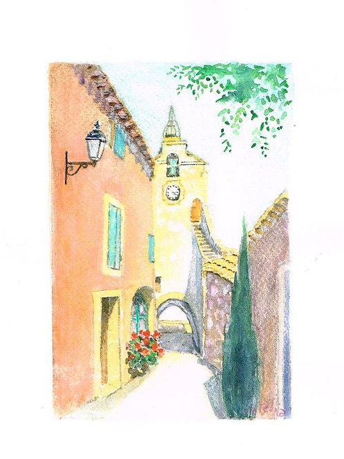 Catelia French Watercolour