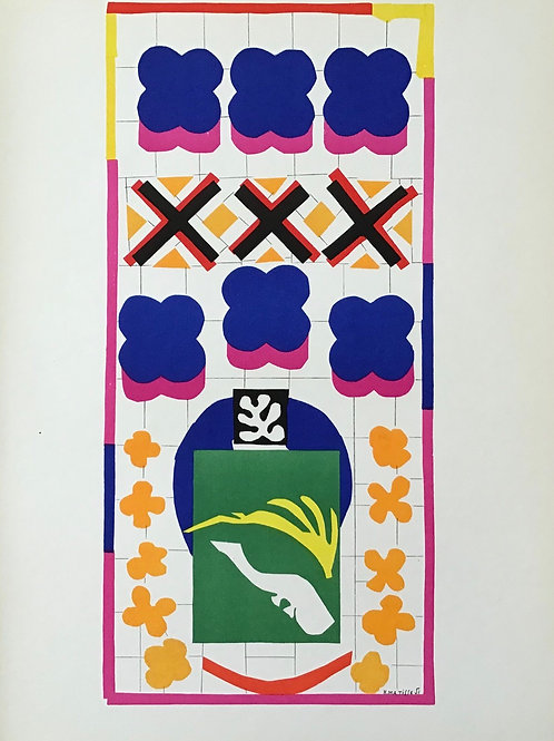 Matisse -  Lithograph - Poissons Chinois
