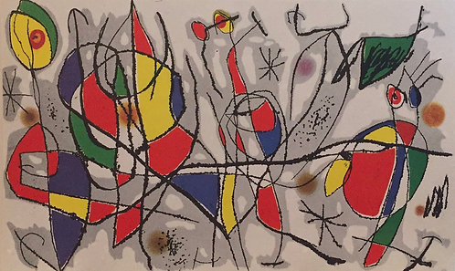Joan Miro, The Sunday Guest