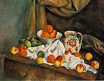 Paul Cezanne, Compotier, Pitcher, and Fruit (Nature morte), 1892-94