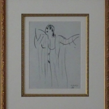 Henri Matisse, drawing, from Dessins