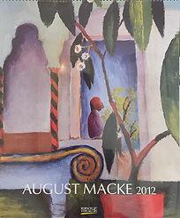 Auguste Macke Calendar