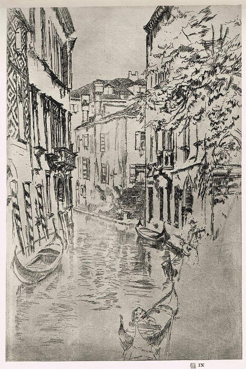 James McNeill Whistler, The Quiet Canal
