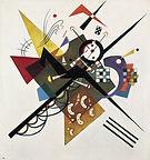 Vasily Kandinsky, On white II, 1923