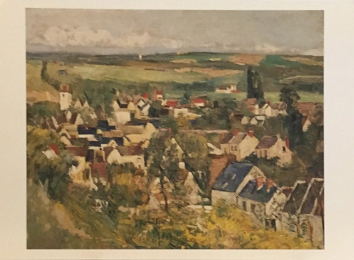 Paul Cezanne, Auvers, Panoramic View