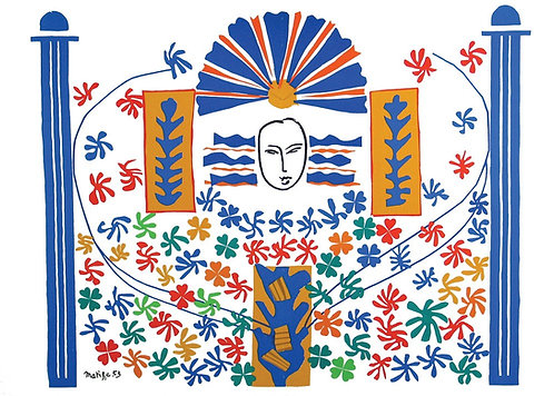 Matisse -  Lithograph - Apollon
