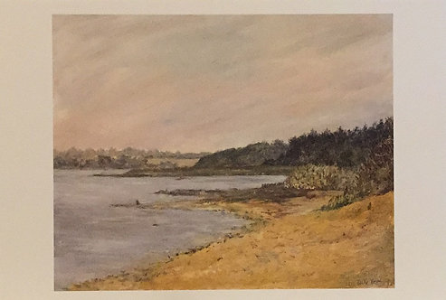 Polly Boyd, The River Deben, Ramsholt