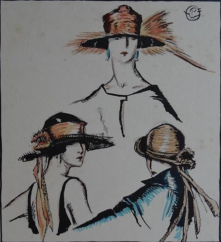 Gazette Du Bon Ton 1921 No 3 Pochoir