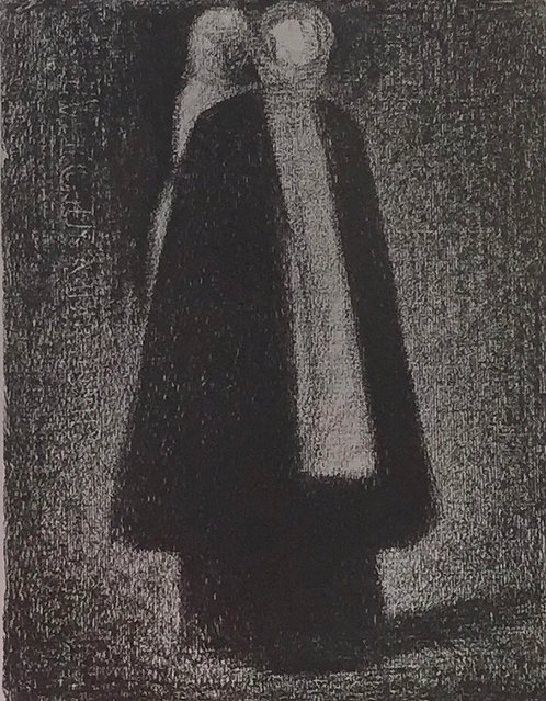 Georges Seurat, The Nanny