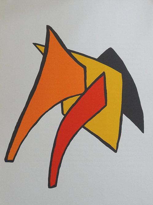 Calder - Plate 3 - Original lithograph