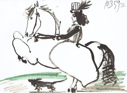 Pablo Picasso, Toros Y Toreros 6