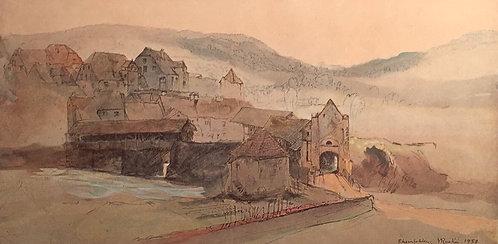 John Ruskin, Rheinfelden Bridge
