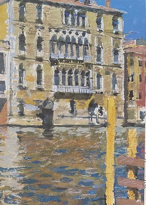 Ken Howard, Towards San Toma, Venice 1996