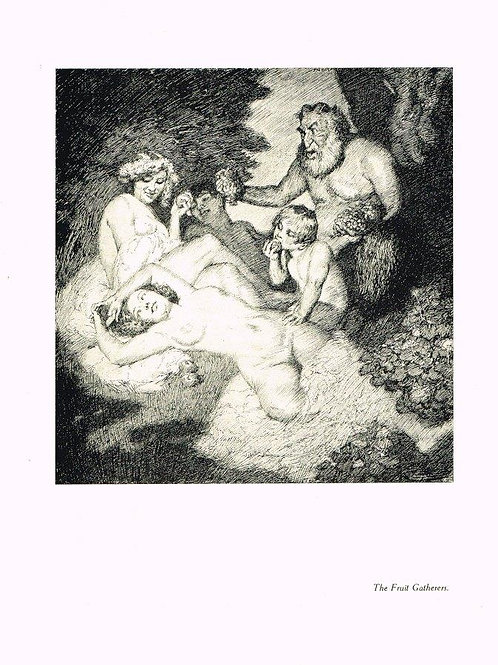 Norman Lindsay Illustration 2