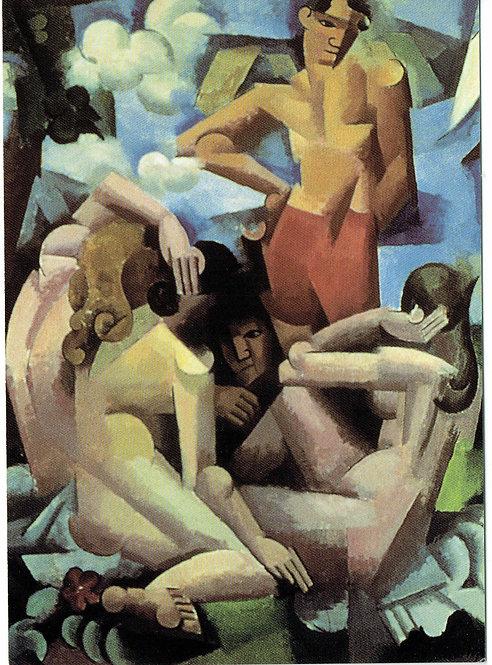 Roger De la Fresnaye, The Bathers