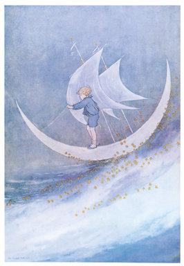 Ida Rentoul Outhwaite, Moonboat