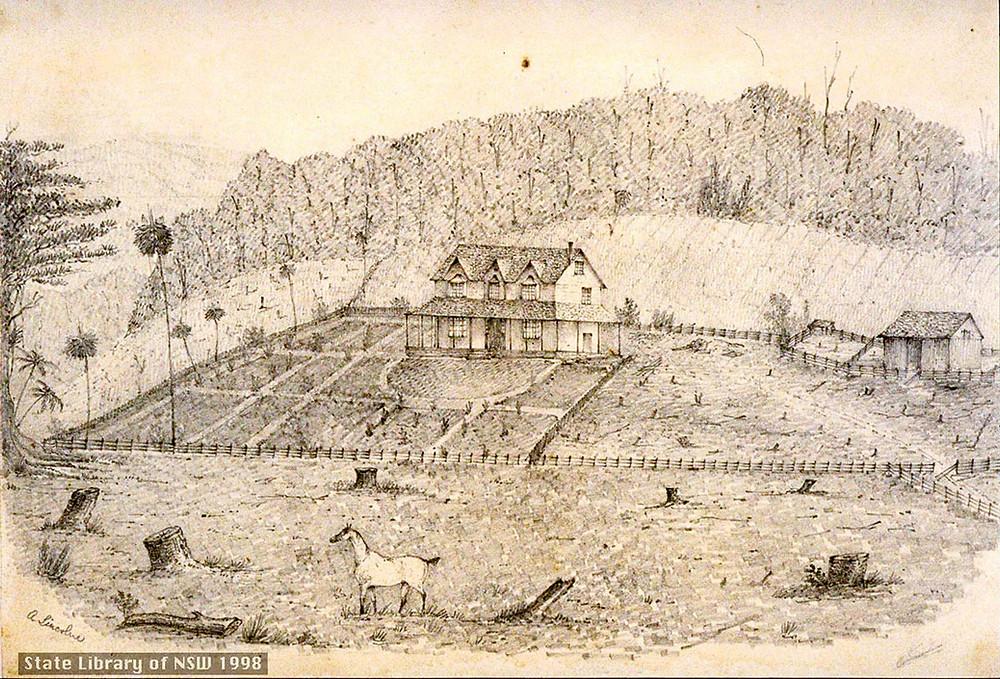 Abraham Lincolne,' Waugh-hope', Jamberoo, Illawarra, 1840-45.