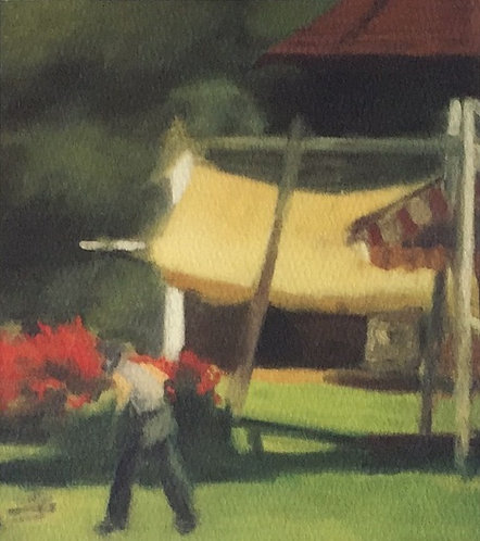 Clarice Beckett, The Tea Gardens