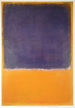 Rothko print (new) 400 x 600cm untitled