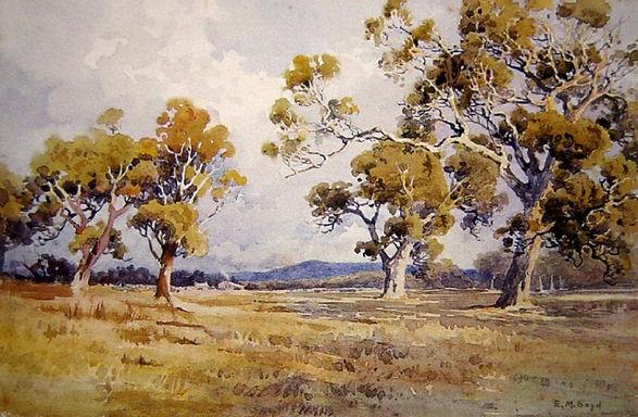 Emma Minnie Boyd, Fallen Tree.jpg