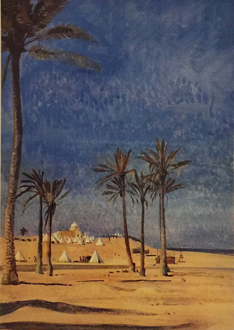 George Lambert, Mouth of the Wady el Arish, 1918