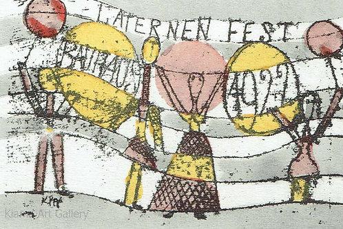 Paul Klee - Lantern Party