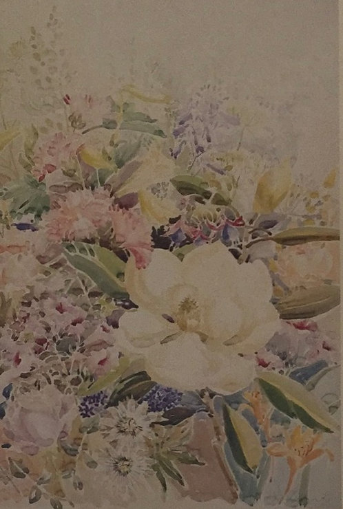 Clarke, Botanical Print 1