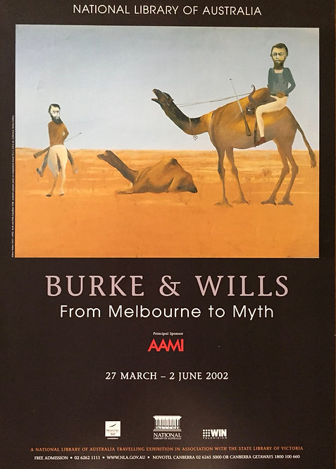 Burke and Wills, From Melbourne to Myth