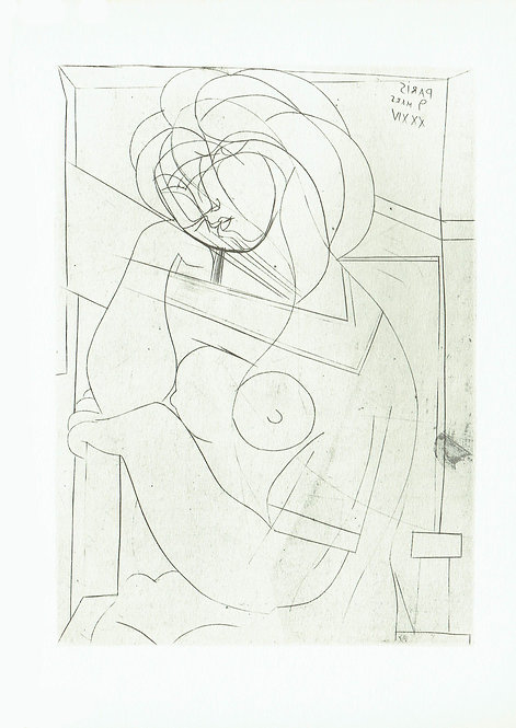 Pablo Picasso, Seated Nude 1934