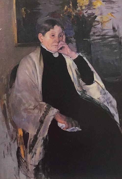 Mary Cassatt, Portrait of Katherine Kelso Cassat, 1889