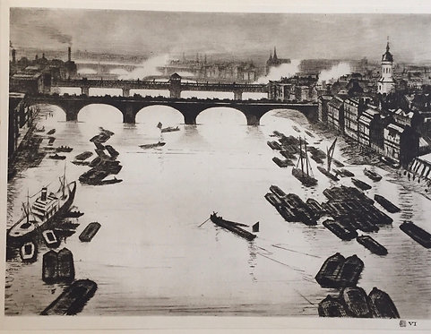 CRW Nevinson, London Bridges