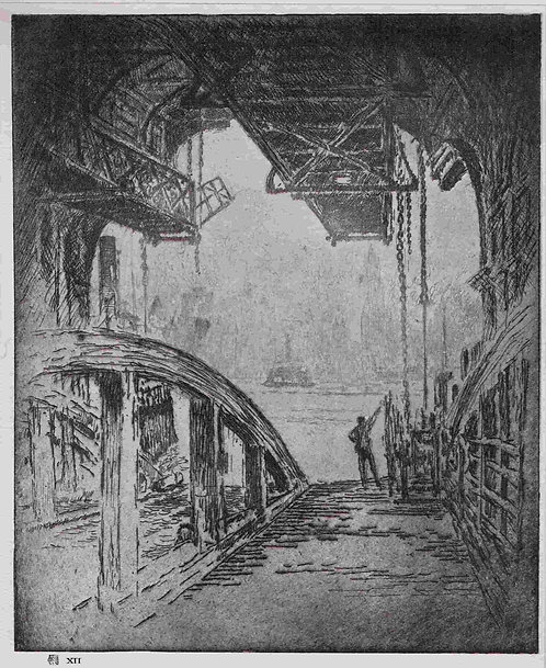 Joseph Pennell, The Ferry House