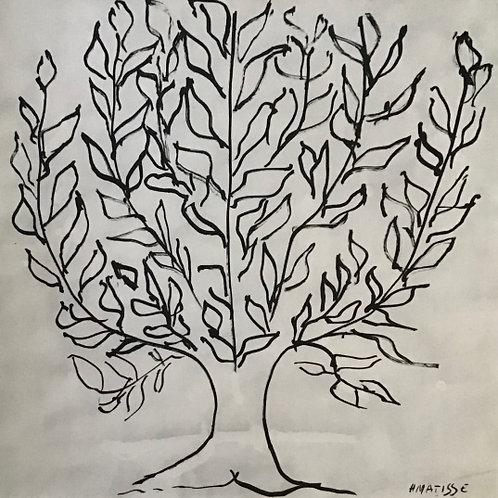 Matisse - Monochrome Heliogravure Plate 55/56